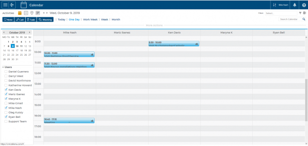 Meeting and Task Tracking